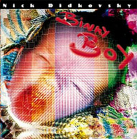 Binky Boy: electric guitar music CD front cover art